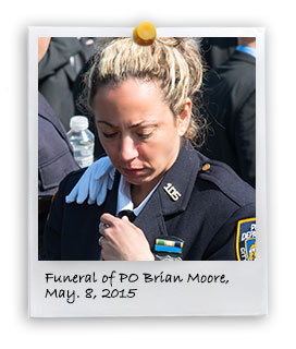 Funeral of PO Brian Moore (5/8/2015)