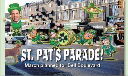 St. Pat's Parade! March planned for Bell Boulevard