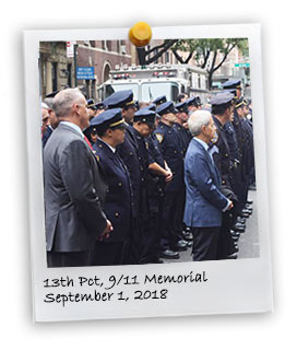 13th Pct. 9/11 Memorial Ceremony (9/11/2018)