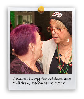 PBA's Annual Party for Widows and Children (12/8/2018)