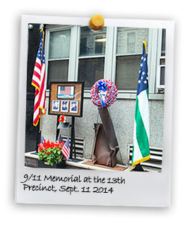 9/11 Memorial at the 13th Precinct (1) (9/11/2014)