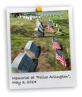 "Memorial Service at the ""Police Arlington"" (5/3/2014)"