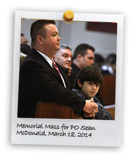 Memorial Mass for P.O. Sean McDonald (3/18/2014)
