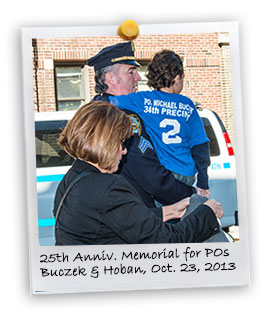 25th Anniversary Memorial March and Mass in Memory of  P.O. Michael J. Buczek and P.O. Christopher G. Hoban, Oct. 23, 2013 (10/23/2013)