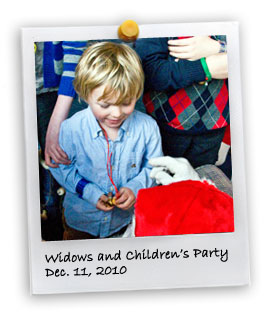 Widows and Children's Party (12/11/2010)
