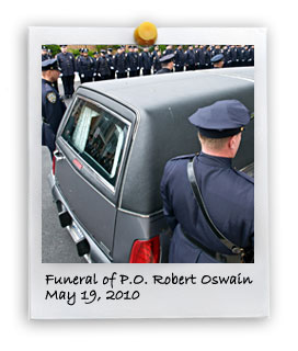 Funeral of P.O. Robert Oswain (5/19/2010)
