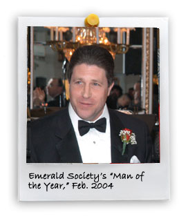 "Emerald Society's ""Man of the Year"" (2/1/2004)"