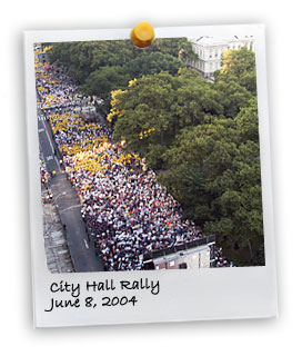 City Hall Rally (6/8/2004)