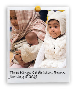 Celebration of Three Kings Day in the Bronx