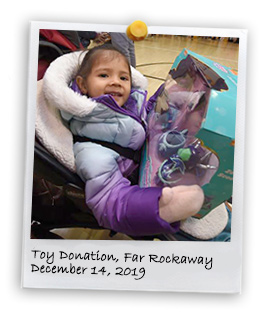 Annual Toys Donation in Rockaway